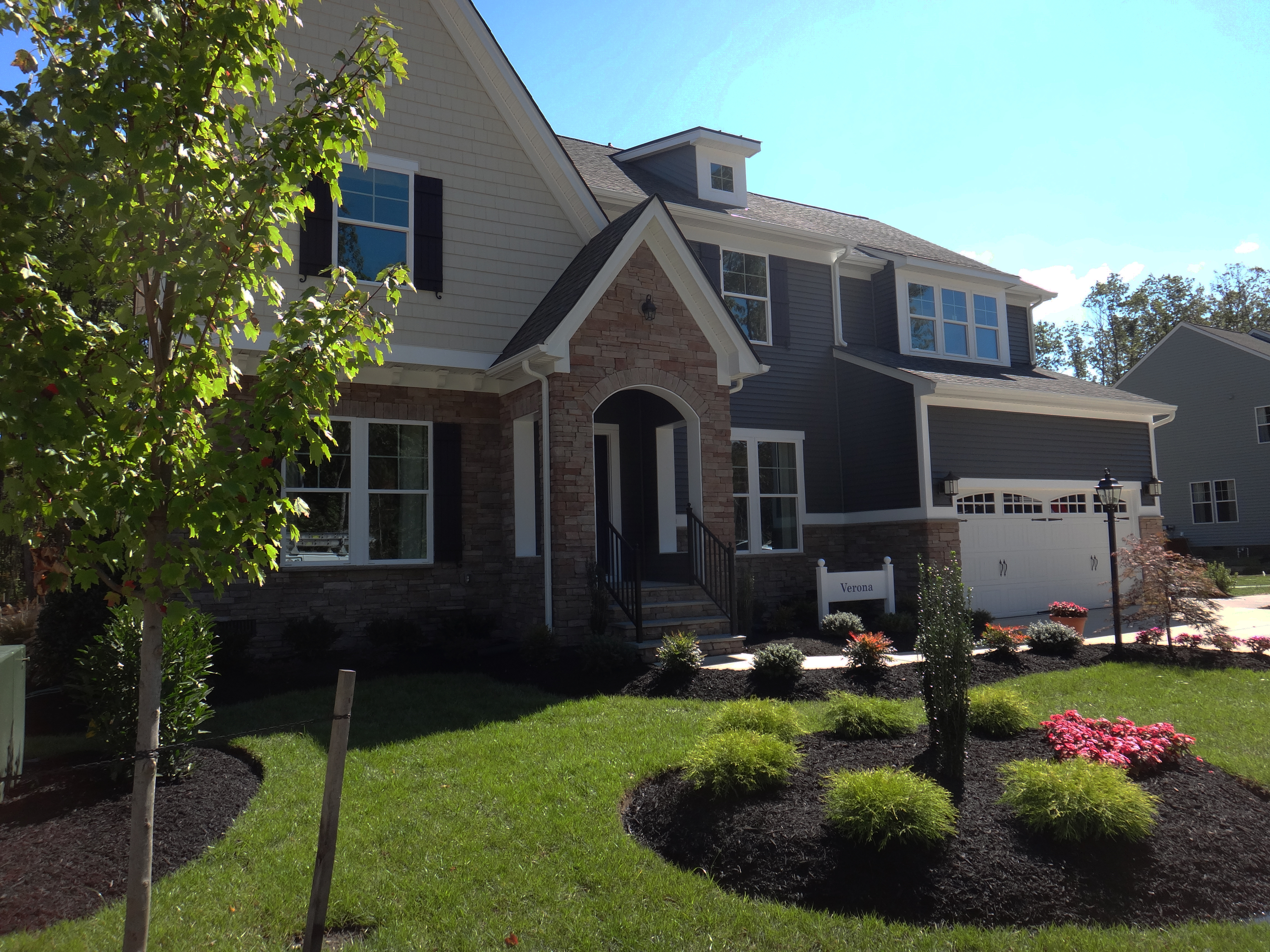 Model home by ryan homes
